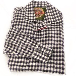 Robert Graham Plaid Classic Fit Button Front Shirt